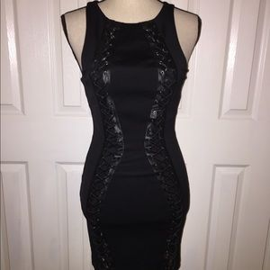 Bebe sexy fitted dress